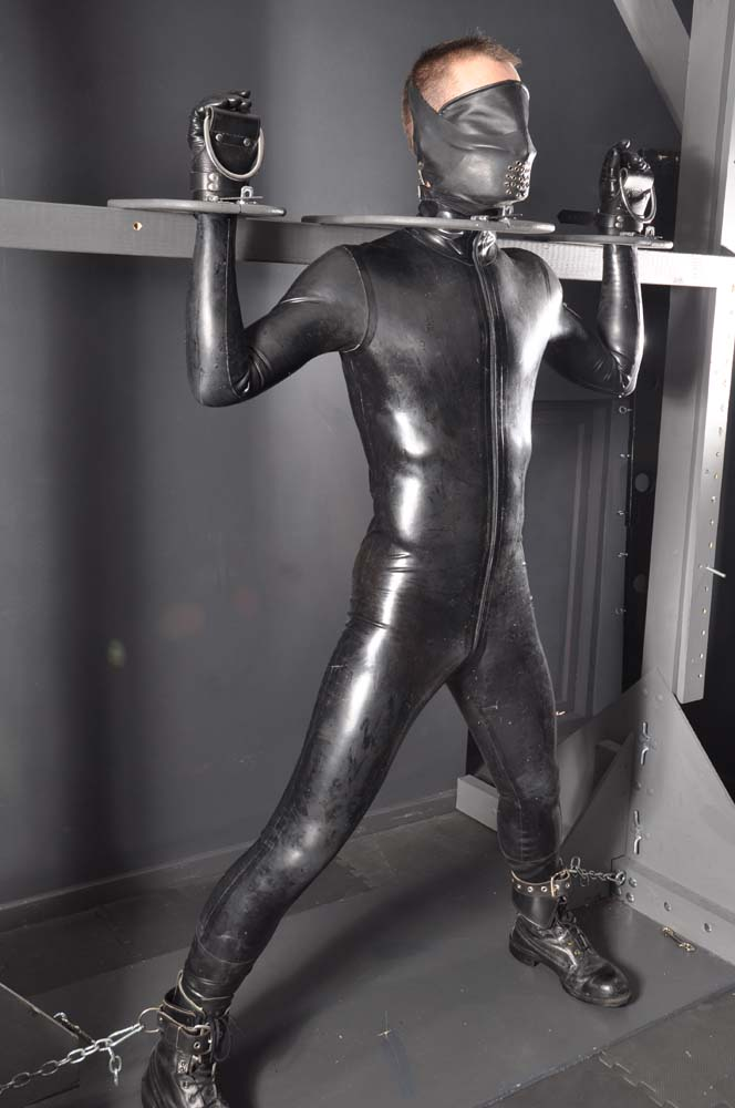 from Tate bondage gay gear leather