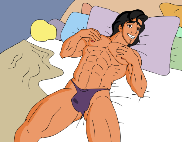 aladdin___naked_in_bed_by_kim_possible333-d7ltdqu