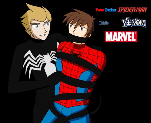 yaoi_pairs_series_35__spiderman_and_venom_by_ernet888-d9l4m7b